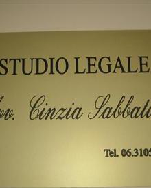 Avv. Cinzia Sabbatini - Frascati, RM